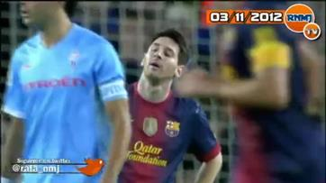 Messi tenta agredir adversário
