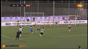 Mario Rodríguez brilha nos juvenis do Real Madrid