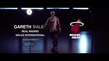 Gareth Bale surpreende no desafio da NBA