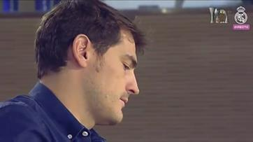 Casillas emociona-se na despedida do Real Madrid