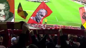 O primeiro 'You'll never walk alone' de Jurgen Klopp