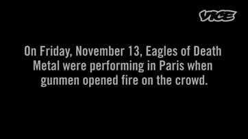 Eagles of Death Metal falam sobre ataque ao Bataclan