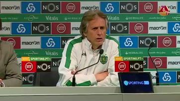 «Estamos no limite do risco» - Jorge Jesus