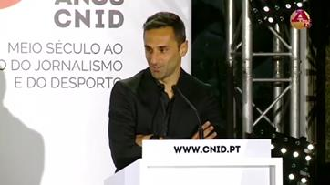 Jonas na gala do CNID