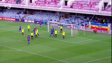 O fair-play do Barcelona B depois de despachar Eldense com... 12-0