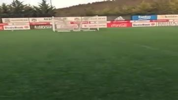 Magia de Quaresma no treino do Besiktas