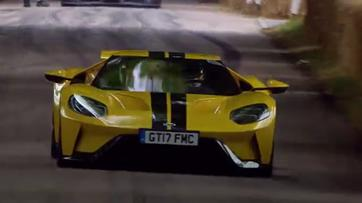 "Ford GT ""aquece"" Goodwood"