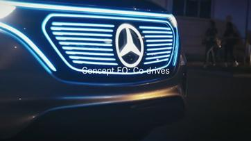 Mercedes EQ desfila no festival South by Southwest