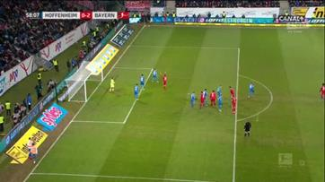 Canto do Bayern dá golo… Do Hoffenheim (Vídeo)