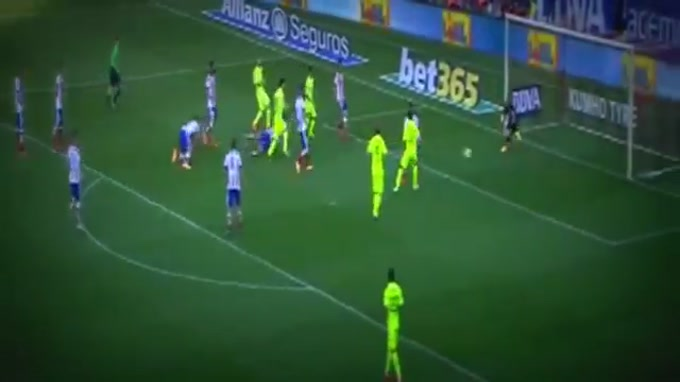 O Barcelona assegurou a conquista do título de campeão espanhol, ao vencer o Atlético Madrid por 1-0. Lionel Messi fez o golo que valeu o triunfo dos catalães.