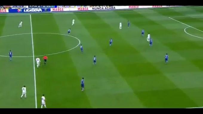Gareth Bale deixou a sua marca no jogo entre Real Madrid e Getafe, relativo à 14.ª jornada da La Liga espanhola.